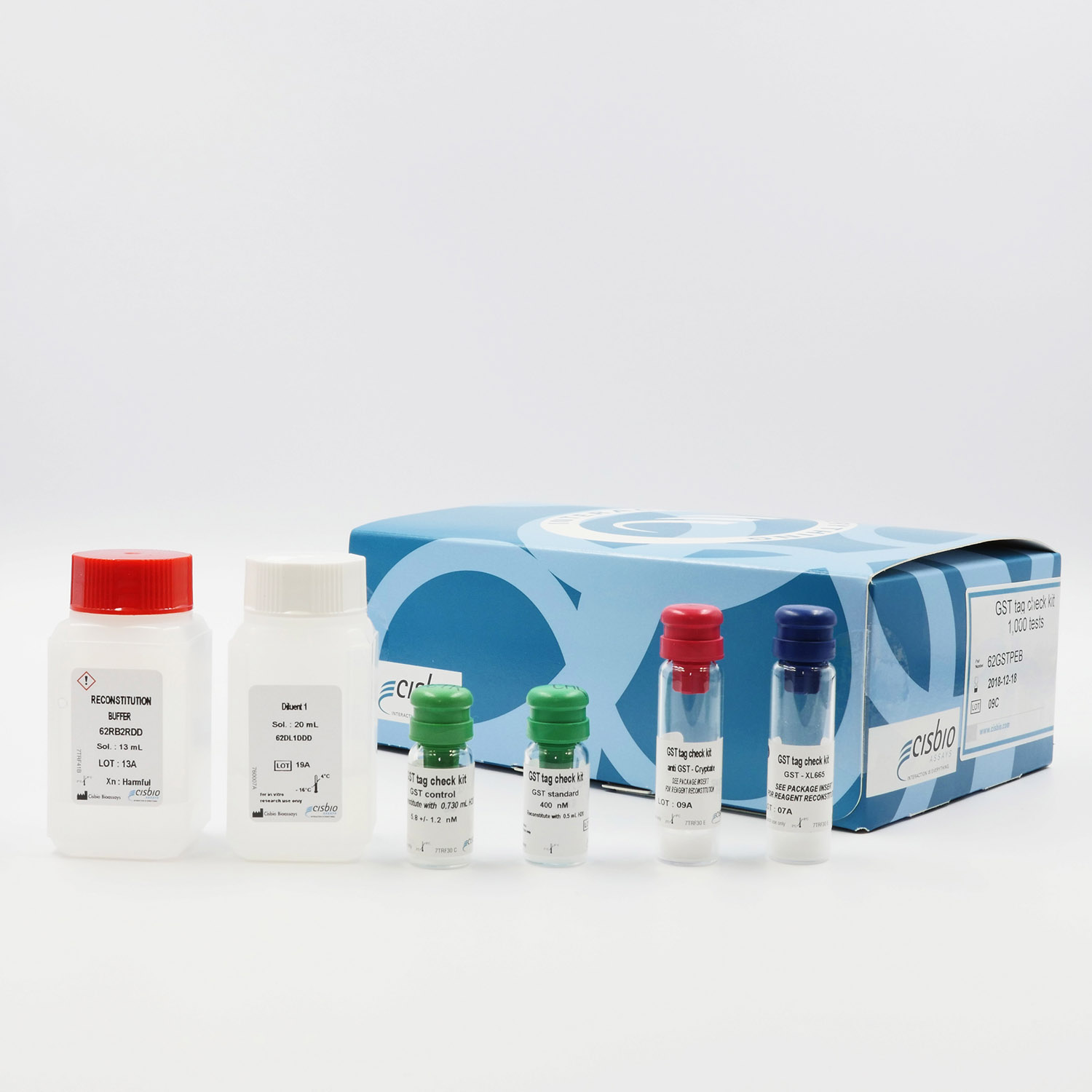 Photography of the GST check kit