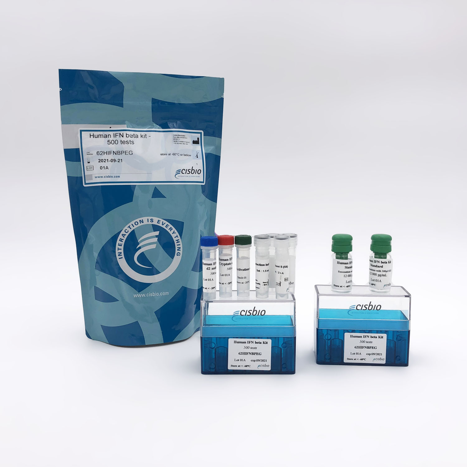 Photography of Human IFN beta Kit