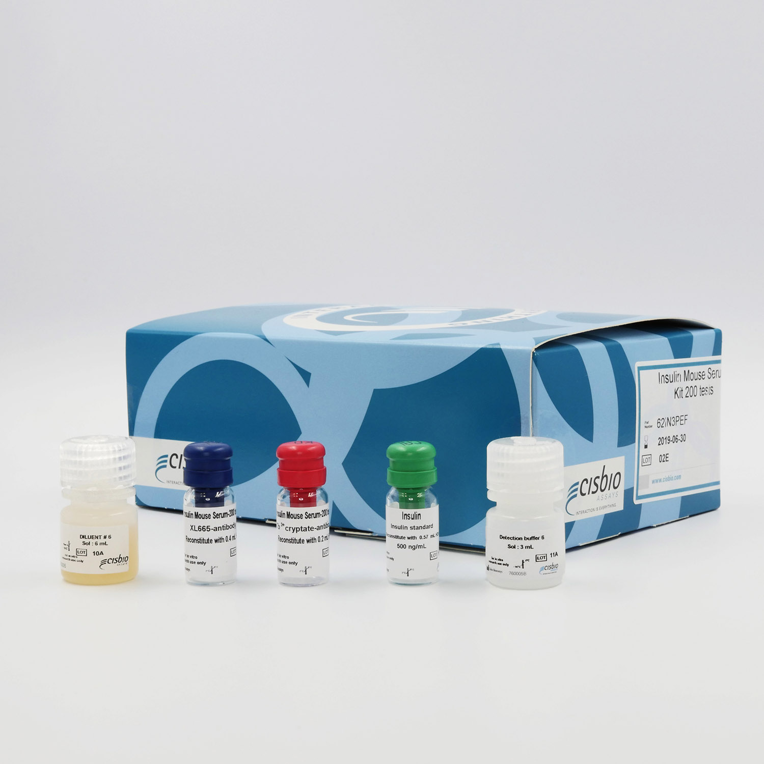 Photography of Insulin Mouse Serum kit