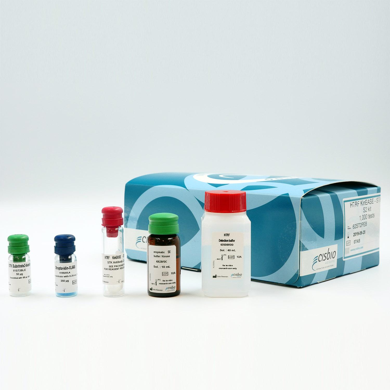 HTRF KinEASE-STK S2 kit components