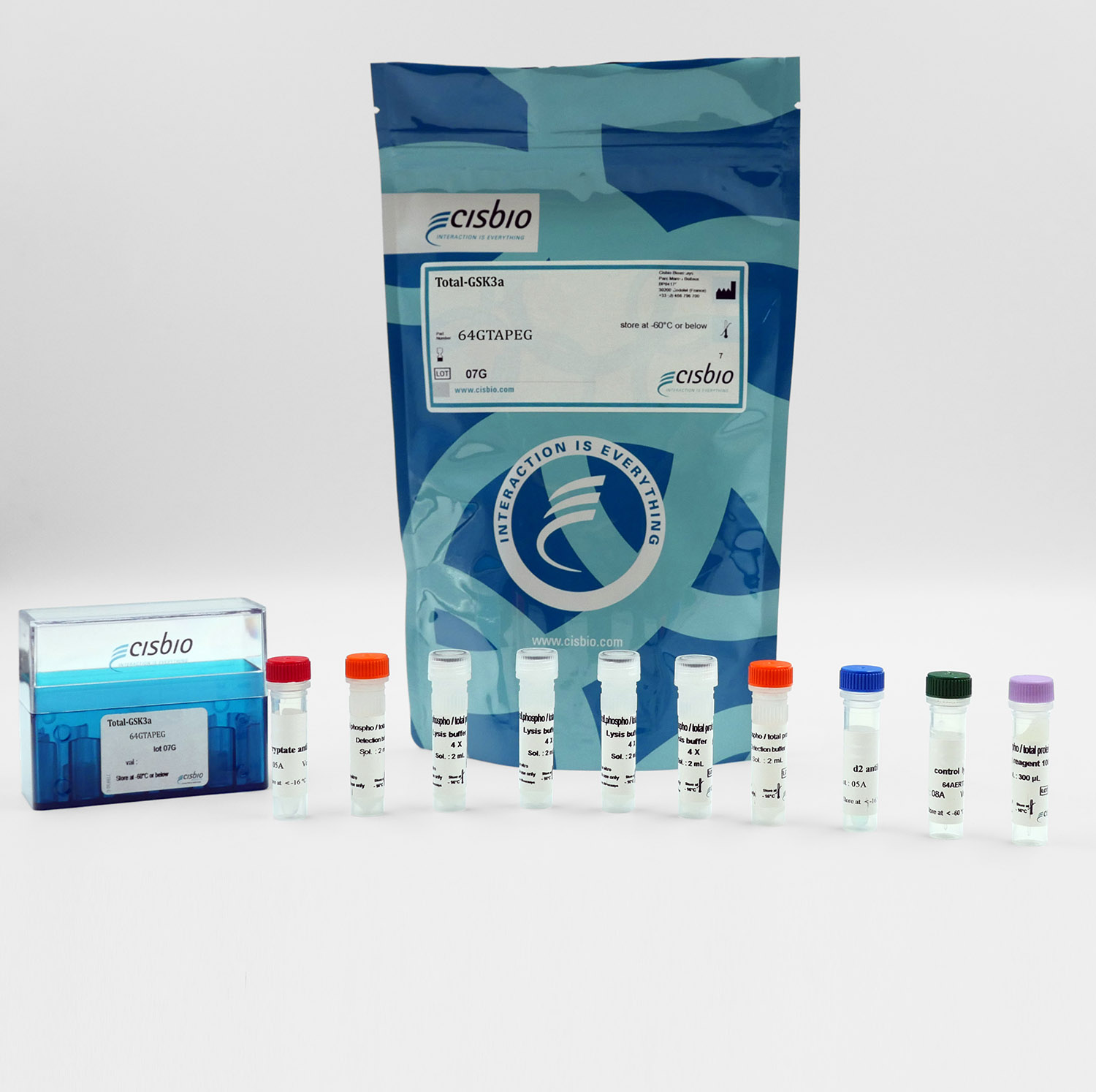 Total GSK3 alpha cellular kit I Cisbio