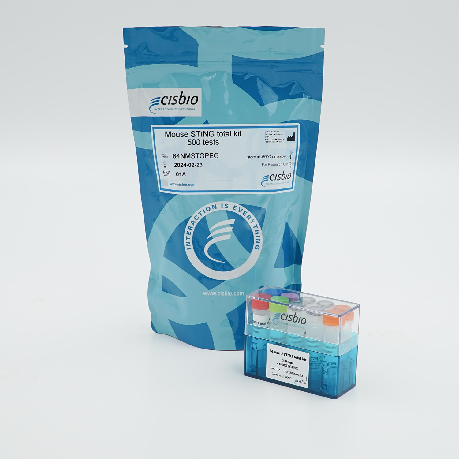 Photo of HTRF Mouse Sting total kit